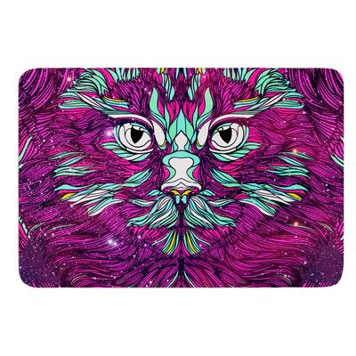Space Cat by Danny Ivan Bath Mat Size: 17W x 24L
