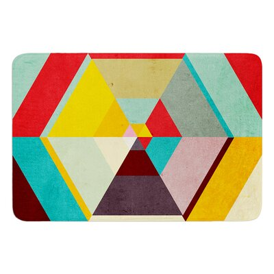 Color Mess by Danny Ivan Bath Mat Size: 17W x 24L