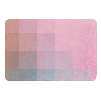 Girly Pixel Surface by Danny Ivan Bath Mat Size: 17W x 24L