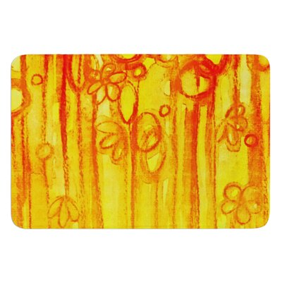 Summer Sentiments by Ebi Emporium Bath Mat Size: 17 W x 24 L