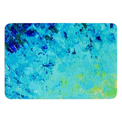 True Reflection by Ebi Emporium Bath Mat Size: 24 W x 36 L