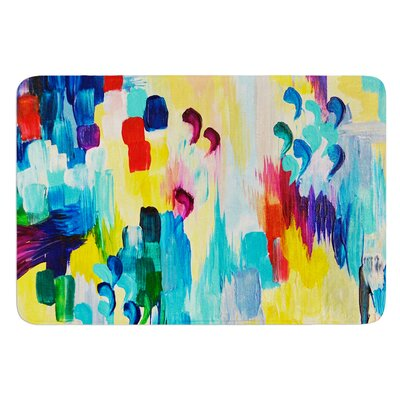 Dont Quote Me by Ebi Emporium Bath Mat Size: 24 W x 36 L