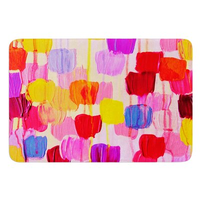 Dotty by Ebi Emporium Bath Mat Size: 24 W x 36 L