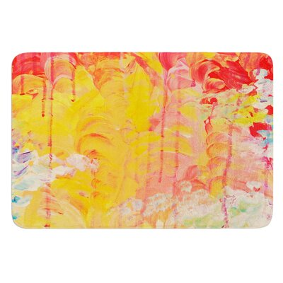 Sun Showers by Ebi Emporium Bath Mat Size: 24 W x 36 L