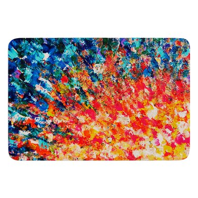 The Clash by Ebi Emporium Bath Mat Size: 24 W x 36 L
