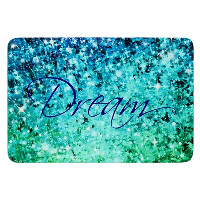 Dream by Ebi Emporium Bath Mat Size: 24 W x 36 L
