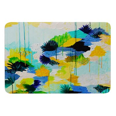Journey to Paradise by Ebi Emporium Bath Mat Size: 17 W x 24 L