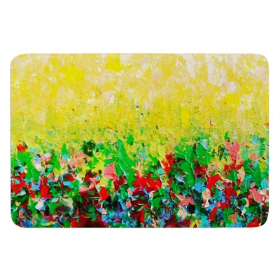 My Paintings by Ebi Emporium Bath Mat Size: 24 W x 36 L