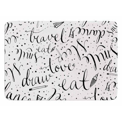 Life Must-dos by MaJoBV Bath Mat