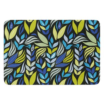 Underwater Bouquet Night by Michelle Drew Bath Mat