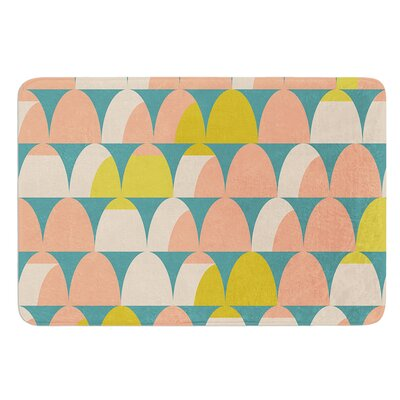 Scallops by Michelle Drew Bath Mat