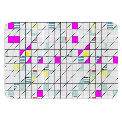 Squares by Michelle Drew Bath Mat