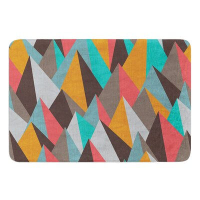 Mountain Peaks I by Michelle Drew Bath Mat