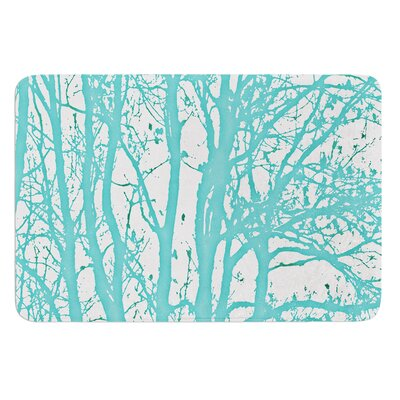 Mint Trees by Monika Strigel Bath Mat