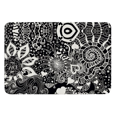 Neptunes Garden by Monika Strigel Bath Mat