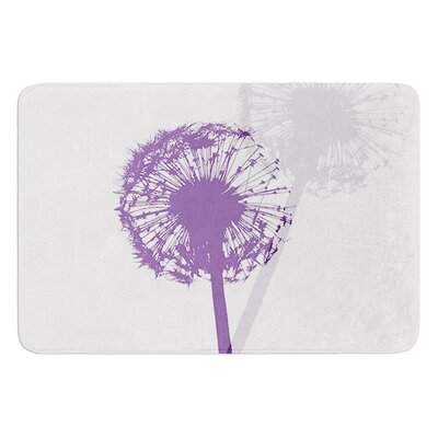 Dandelion by Monika Strigel Bath Mat