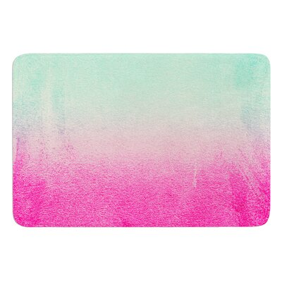 Sunny Melon by Monika Strigel Bath Mat