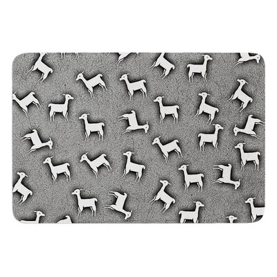 Llama Multi by Monika Strigel Bath Mat