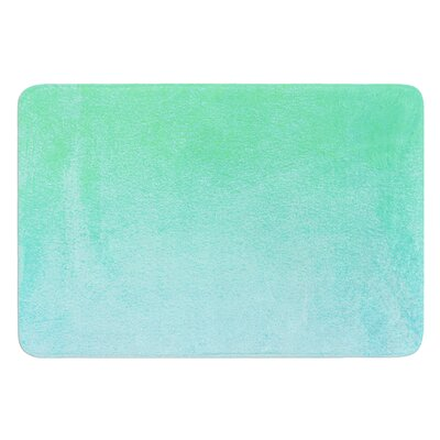 Blue Hawaiian by Monika Strigel Bath Mat