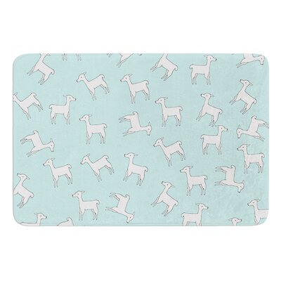 Baby Llama Multi by Monika Strigel Bath Mat
