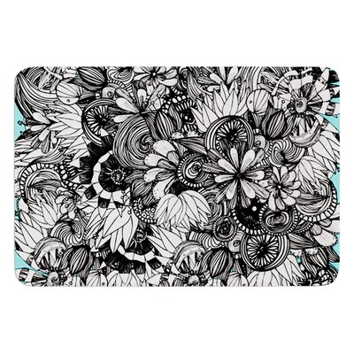 Blumen by Anchobee Bath Mat Size: 24 W x 36 L