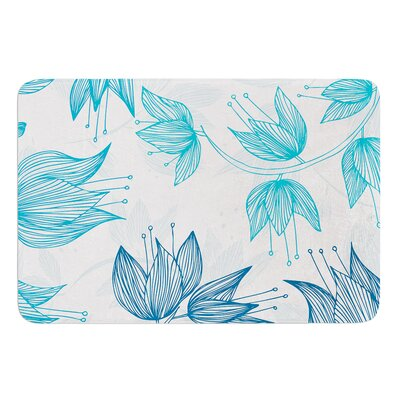 Biru Dream by Anchobee Bath Mat Size: 17W x 24L