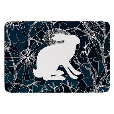 Hare by Anchobee Bath Mat Size: 24 W x 36 L