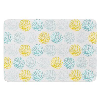 Coralina by Anchobee Bath Mat Size: 17W x 24L