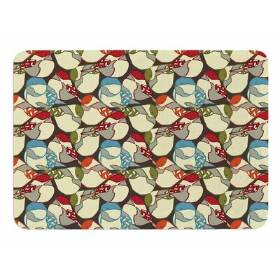 Chickadees by Amy Reber Bath Mat