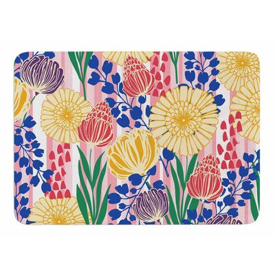 Pretty Bouquet by Amy Reber Bath Mat