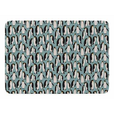 Penguin Colony by Mayacoa Studio Bath Mat