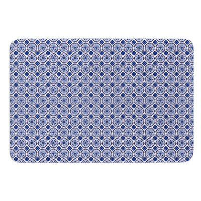 Bohemian Blues II by Carolyn Greifeld Bath Mat Size: 17W x 24L