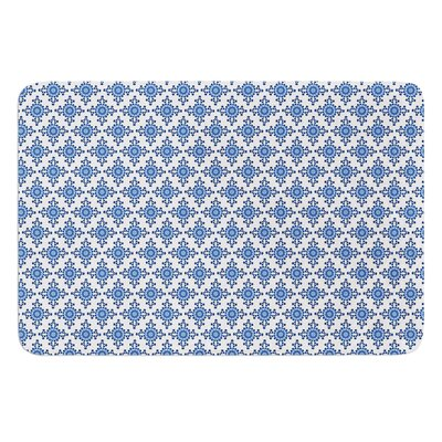 Bohemian Blues III by Carolyn Greifeld Bath Mat Size: 17W x 24L