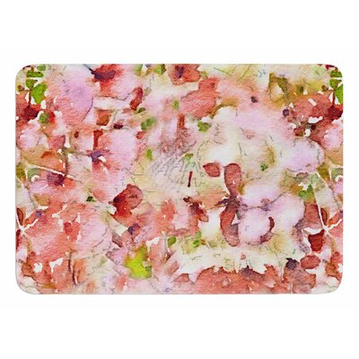 Floral Fantasy by Carolyn Greifeld Bath Mat