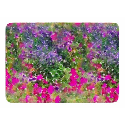 Water Florals by Carolyn Greifeld Bath Mat