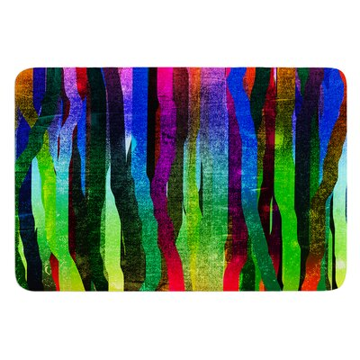 Jungle Stripes II by Frederic Levy-Hadida Bath Mat Size: 24 W x 36 L