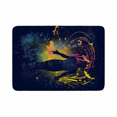 The Birds Master by Frederic Levy-Hadida Bath Mat