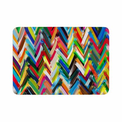 Chevrons by Frederic Levy-Hadida Bath Mat