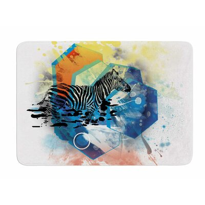Walk Off The Colors by Frederic Levy-Hadida Bath Mat