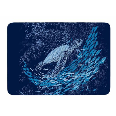 The Turtle Way by Frederic Levy-Hadida Bath Mat