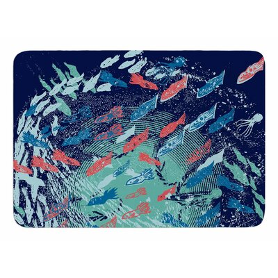 Underwater Life by Frederic Levy-Hadida Bath Mat