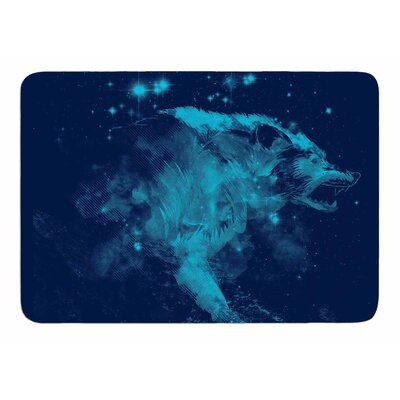 Predation Instinct II by Frederic Levy-Hadida Bath Mat
