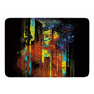 Starry City Lights by Frederic Levy-Hadida Bath Mat