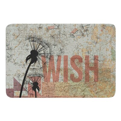Wish Bath Mat Size: 17 W x 24 L