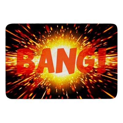 Bang Bath Mat Size: 17 W x 24 L