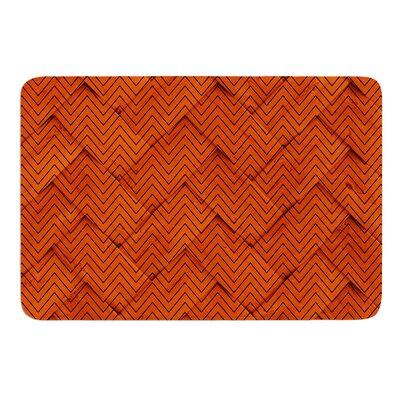 Chevron Weave Bath Mat Size: 17 W x 24 L