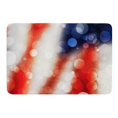 Patriot Bath Mat Size: 17