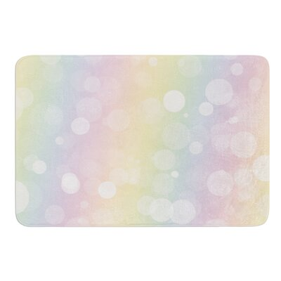 Pastel Prism Bath Mat Size: 17