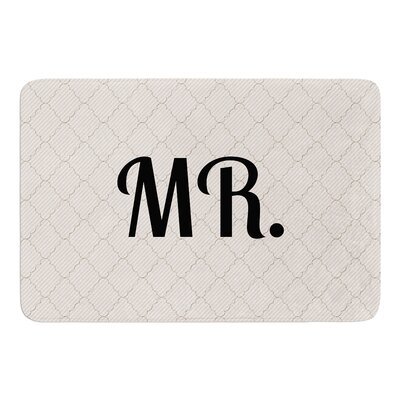 MR Bath Mat Size: 24 W x 36 L