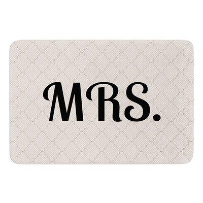MRS Bath Mat Size: 24 W x 36 L